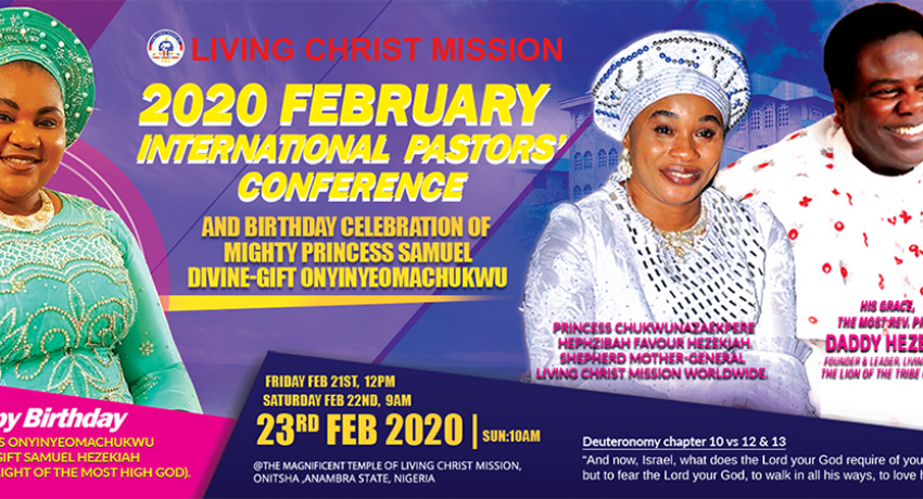 2020 February International Pastors' Conference